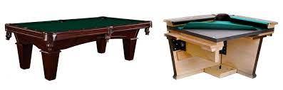 slate vs mdf pool table home billiards