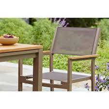 hampton bay barnsdale teak 7 piece patio dining set
