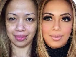 makeup transformation pics