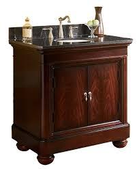 kaco mount vernon 36 inch antique bathroom vanity granite countertop