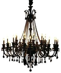 black chandelier jet crystal with lights traditional argos