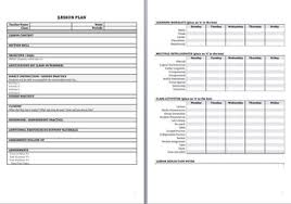 Lesson Plan Outline Best Lesson Plan Template Pdf Fillable Ms Word By Teacher Snacks