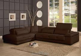 grey walls brown furniture. Brown Living Room Sectional Couch With Grey Wall Decor And Beige Rug Also Wooden Floor Walls Furniture
