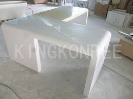 artificial stone corian material table tops