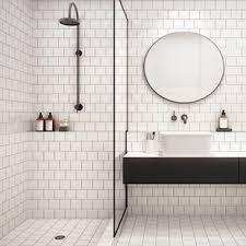 white square tile bathroom. Contemporary White Small Square Tiles And White Tile Bathroom A