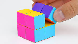 infinity cube. how to make an infinity cube out of paper! infinity cube y