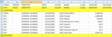 Import Chart Of Accounts From Excel To Quickbooks Desktop Import Chart Of Accounts Into Quickbooks From Excel Www