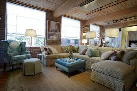 comfy living room furniture. Comfy Living Room Furniture Stunning Impressive Sitting Design Implemented With Letter U Shaped White Sofa And Blue Aquamarine Colored Wingback I
