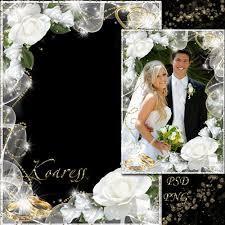 11 Wedding Photo In Photoshop Templates Images Wedding Dvd