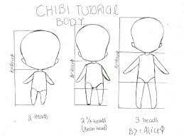 anime chibi drawing tutorial. Chibi Tutorial Body Text How To Draw MangaAnime More Throughout Anime Drawing