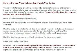 How To Write A Thank You Letter For A Donation Thank You Letter Templates Within To Employees Scholarship Donation