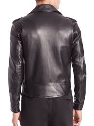 3 1 phillip lim leather moto jacket black men apparel coats jackets shearling 3 1 phillip