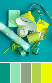 Yellow Blue Green Color Combination In Blue Green And Yellow By 101