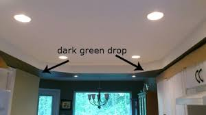 painting recessed lighting fixtures. handy gal tools \u0026 projects paints a dark green ceiling drop. painting recessed lighting fixtures