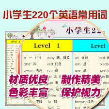 Usd 8 07 Primary School English 220 High Frequency Words