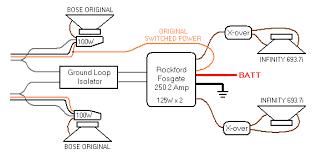 infinity 7540a 7541a 4 channel car amp circuit diagram power g37 bose wiring diagram at Bose Car Amp Wiring Diagram Manual