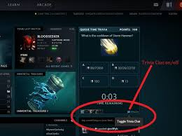 psa here is how to toggle queue time trivia chat thanks me later