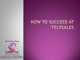 tele sales training free powerpoint how to succeed at telesales
