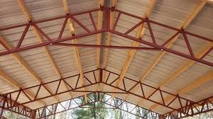 our best building kit pole barn steel truss system