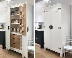 image of freestanding kitchen pantry modern free standing larder cupboards ireland cool ideas