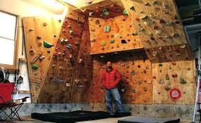 build climbing walls how