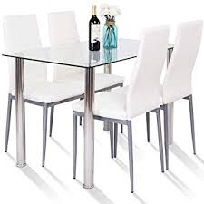 image unavailable image not available for color tangkula 5 pcs dining table set modern