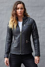 up town girl quilted jacket