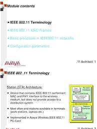 802 11 frame format 802 11 architecture wireless lan telecommunications