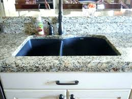 Black Undermount Sink Composite Large Size Of Faucet Quartz Sinks  Granite Vs Stainless Steel U8