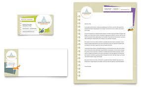 Kindergarten Tri Fold Brochure Template Design