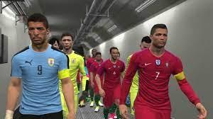 PES 2017 | Portugal vs Uruguay