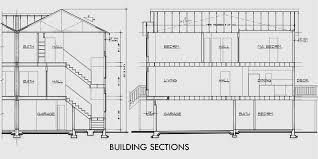 3 Story Townhouse Plans 4 Bedroom Duplex House Plans D4154 Bedroom Duplex Floor Plans