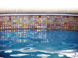 swimming pool glass tile design water line pool tile glass tiles form the waterline tile for