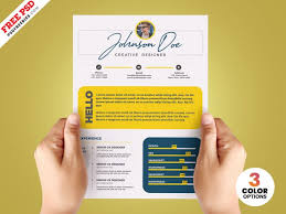 Find amazing colorful resume templates on envato elements (with unlimited use). Resume Templates Psdfreebies Com
