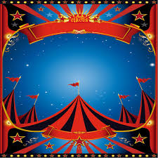 circus poster template 710x710