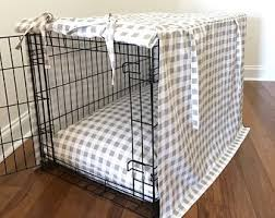 designer dog crate covers.  Crate Crate Cover Kennel Dog Buffalo Plaid  Designer Pet Crates With Covers