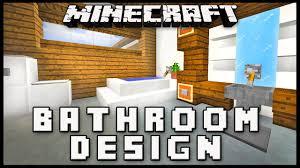 minecraft modern bathroom. Minecraft: How To Make A Modern Bathroom Design ( House Build Ep. 17) - YouTube Minecraft M