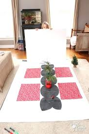 chalkboard table runner kitchen papers