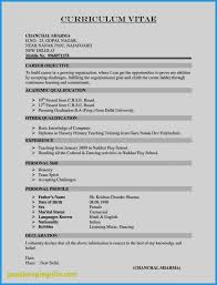 Sample Resume Format For Teachers Doc Beautiful Collection Sample