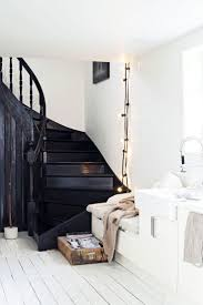 Painted Stairs Best 25 Black Painted Stairs Ideas Only On Pinterest Black