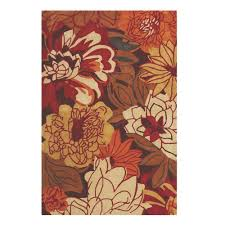 home decorators collection serena red multi 8 ft x 11 ft area
