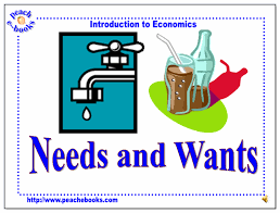 Image result for wants/needs for first grade picture