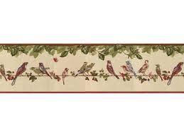 Birds Wallpaper Border B30037