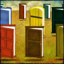 open door painting. Variety Of Open Doors Door Painting