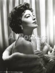 Ava Gardner in a Furry Cloth' Photo - Movie Star News | AllPosters.com