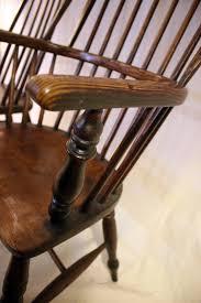 farmhouse midnight black windsor arm chair set