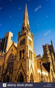 City Light Church Philadelphia Evening Light On Arch Street Methodist Episcopal Church In