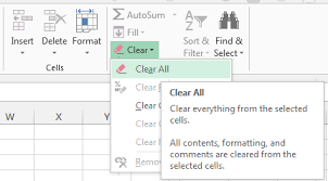 Delete A Chart Excel