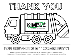 You can easily print or download them at your convenience. Thank You Free Coloring Page Kimble Recycling Disposal
