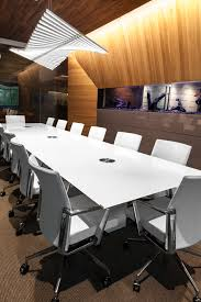 custom office tables. A Custom Conference Table With Back-painted Glass Top For This Modern Office In Provo, Utah. Tables